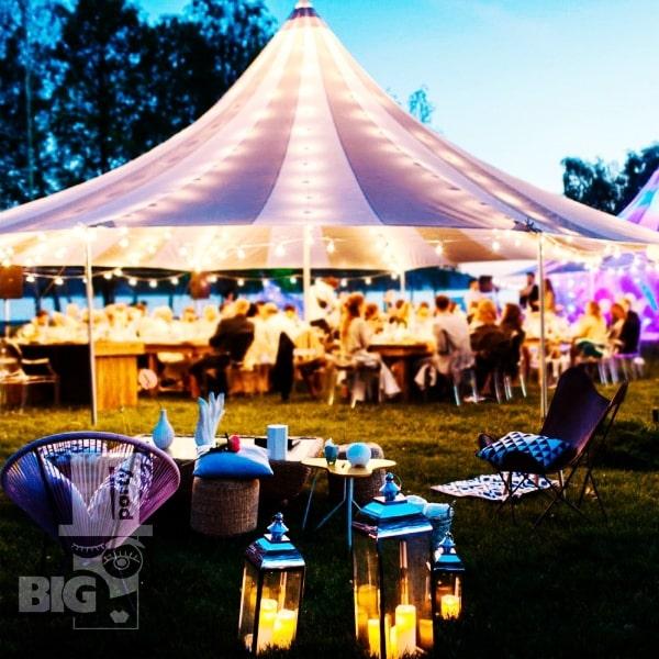 BIG PARTY: KĀZAS, BANKETI telts/ СВАДЬБЫ, БАНКЕТЫ И ТОРЖЕСТВА шатер