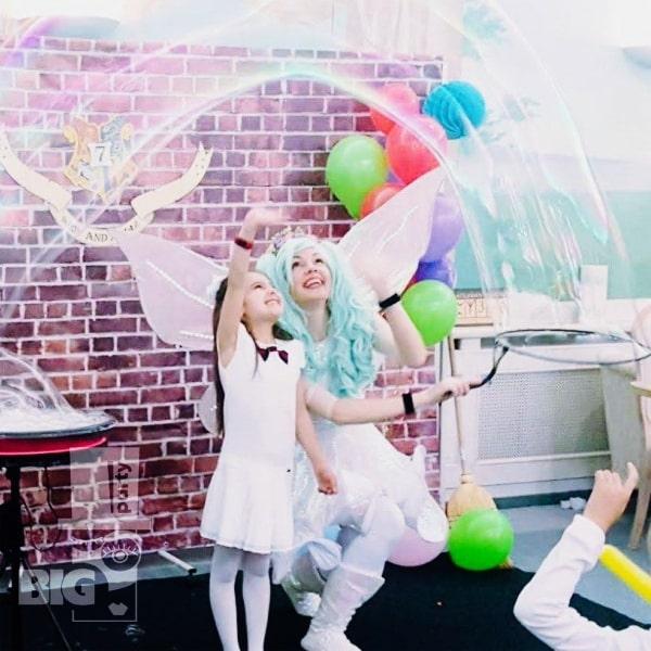 BIG PARTY: bērnu animātors, burbuļu šovs / аниматор детский, burbuļu šovs