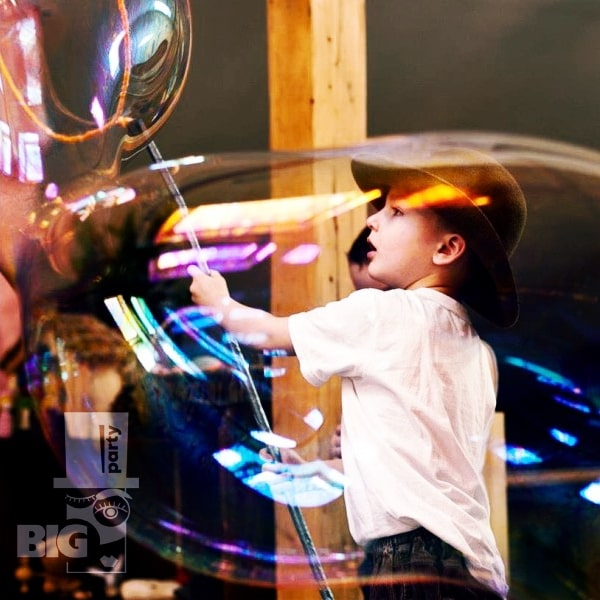 BIG PARTY: burbuļu šovs / шоу мыльных пузырей