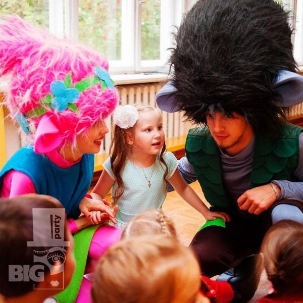 BIG PARTY: bērnu animātors / аниматор детский