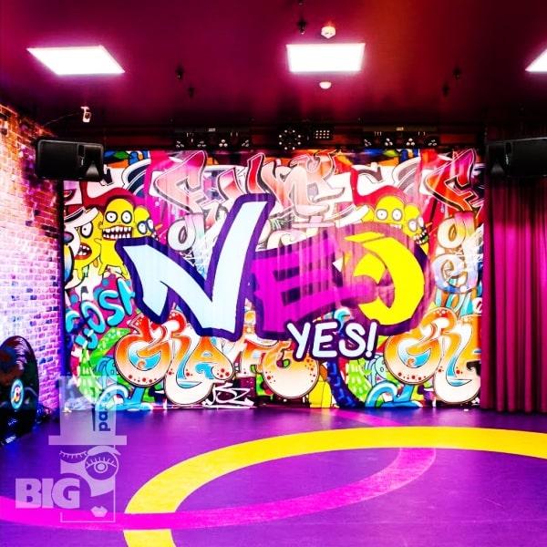 BIG PARTY LOUNGE NEO CLUB: Klubs ideāli piemērots modes tusiņiem un diskotēkām / Идеальный клуб для модных вечеринок и дискотек